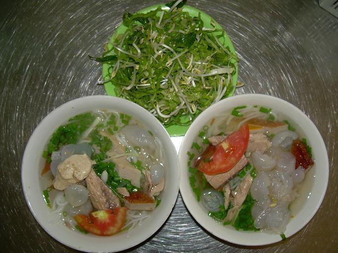 Bún sứa Nha Trang - Món ăn không thể chối từ