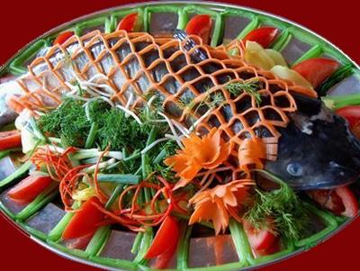 Cá song hấp xì dầu thơm ngon, bổ dưỡng