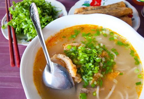 Cháo canh dân dã đặc sản Quảng Bình