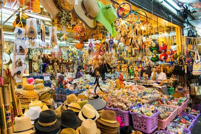 Chợ đêm Bangkok - Thiên đường mua sắm ở Thái Lan