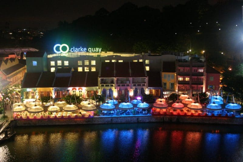 Du lịch Singapore khám phá Clarke Quay