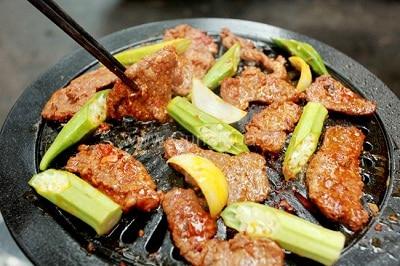 Thịt dê nướng - Đặc sản ở Thiên Cầm