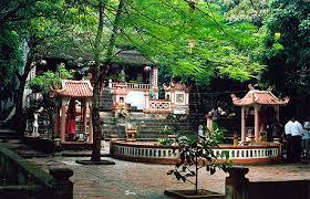 Đền Chiêu Trưng thờ vị đại vương Lê Khôi