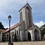 Kiến trúc độc đáo nhà thờ đá Sapa