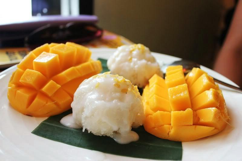 Xôi xoài - Món ngon ẩm thực Thái Lan