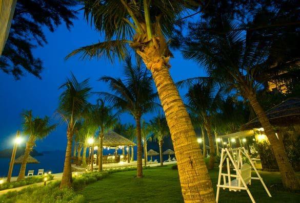 Dạo biển đêm không gian lãng mạn ở Cát Bà