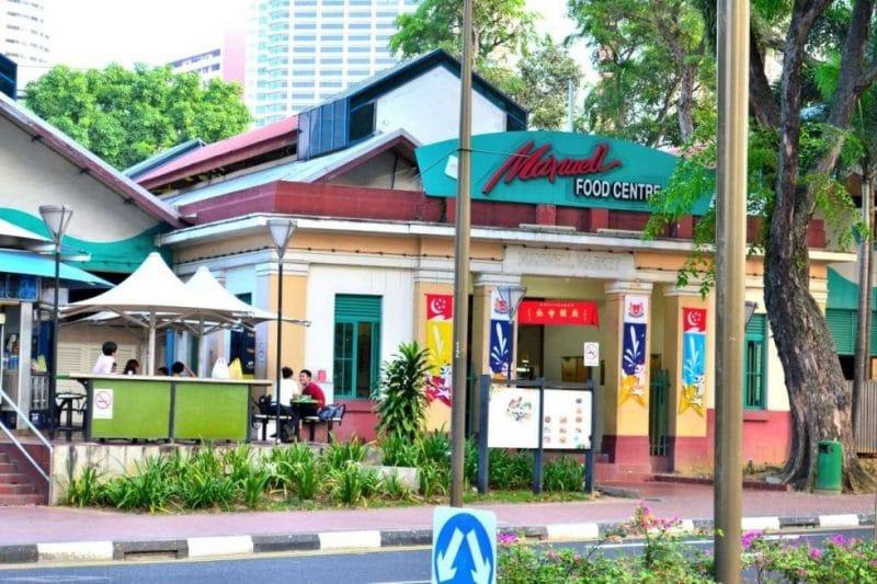 Trung tâm ẩm thực Maxwell Road Hawker Centre