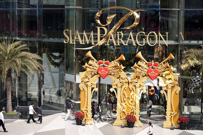 Siam Paragon - Trung tâm mua sắm cao cấp ở Bangkok