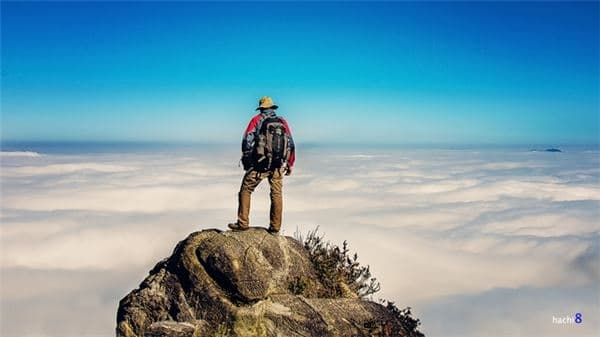 Khi đã lên đến đỉnh Bạch Mộc Lương Tử, du khách sẽ có một cảm giác vô cùng khó tả