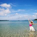 Vẻ đẹp hoang sơ nơi bãi tắm Hồng Vàn