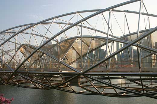 Helix Bridge - Cầu xoắn kép đầu tiên trên thế giới