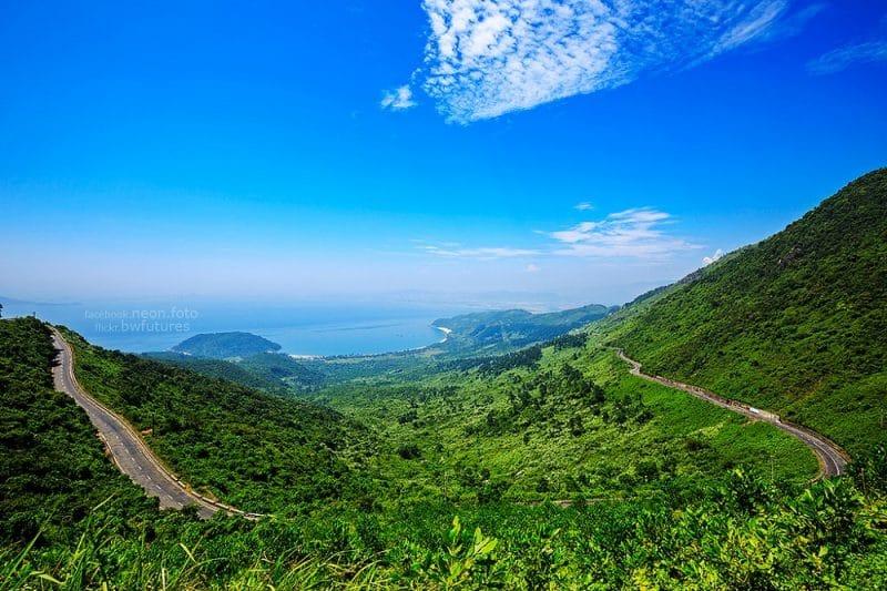 Đèo Hải Vân con đường Nên Thơ