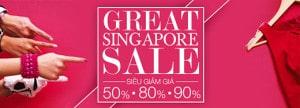 Mùa giảm giá ở Singapore