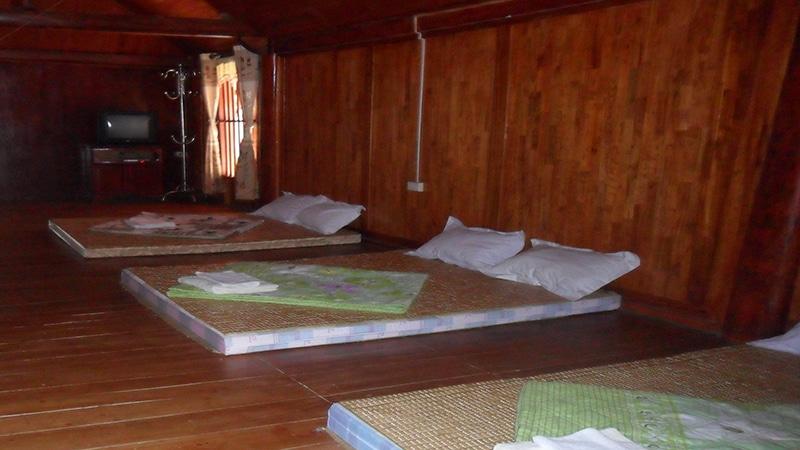 Nhà sàn của Hùng Lâm resort đem đến những trải nghiệm mới mẻ cho du khách