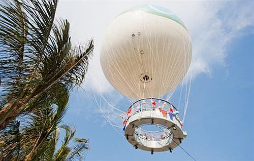 Ngắm nhìn Vịnh Hạ Long từ khinh khí cầu
