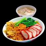 Du lịch Singapore ăn mỳ hoành thánh