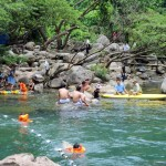 Du lịch Quảng Bình khám phá vẻ đẹp suối nước Moọc hè 2015