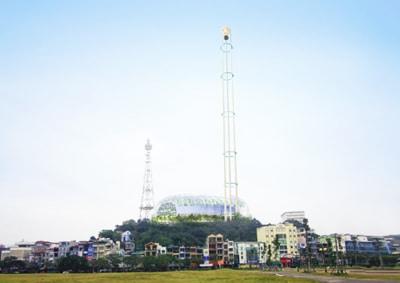 Dự án xây dựng tháp khinh khí cầu ở Hạ Long