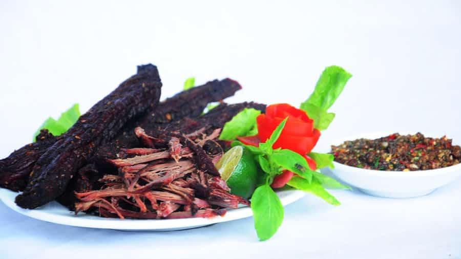 Thịt trâu gác bếp - Món ngon Sapa không thể bỏ lỡ
