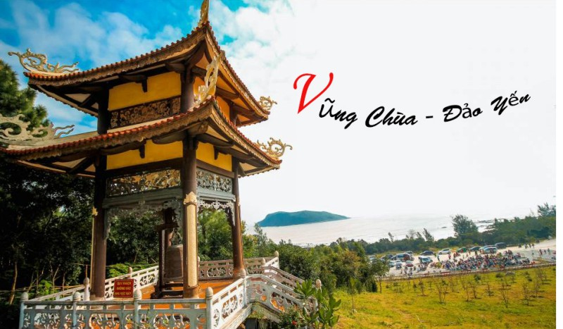 Vũng Chùa - đảo Yến, nơi yên nghỉ của Đại tướng Võ Nguyên Giáp