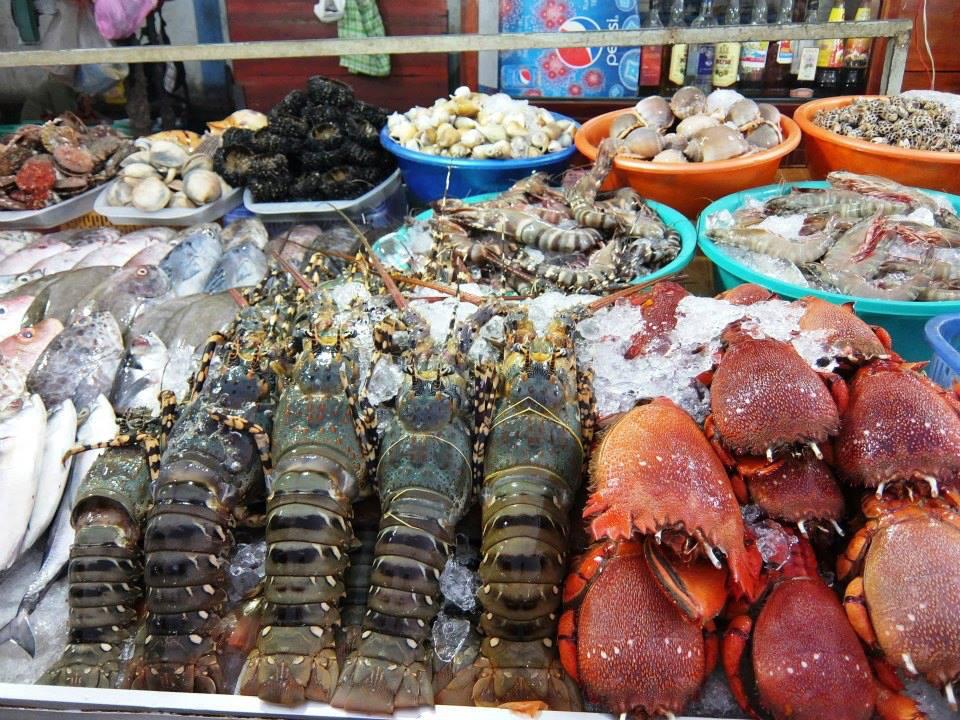 Chợ hải sản Quảng Bình