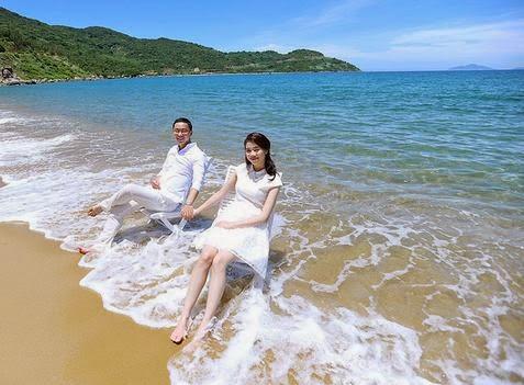 Chụp ảnh cưới ở bán đảo Sơn Trà