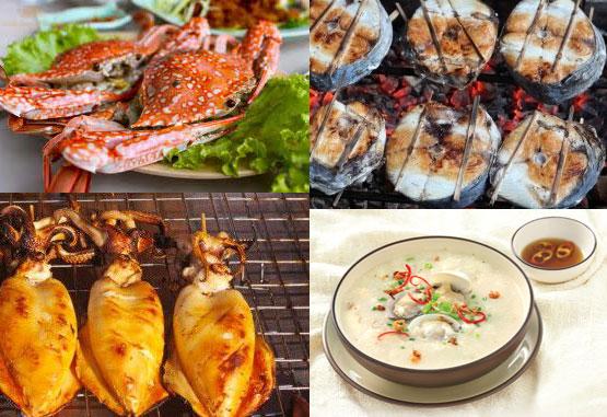 Những món ngon từ hải sản Cửa Lò