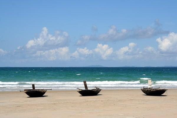 Vẻ đẹp thiên nhiên hoang sơ trên bãi biển Vàn Chải
