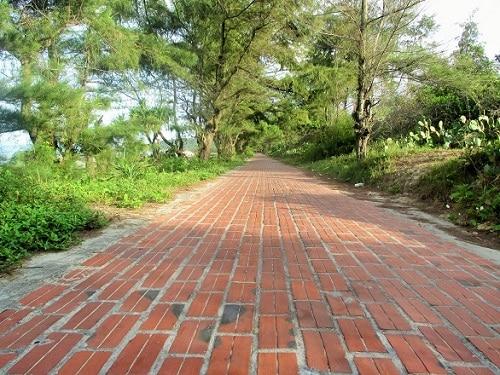 Con đường tình yêu lãng mạn trên đảo Cô Tô