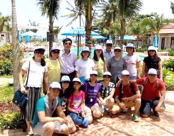 Gia đình chị Nguyễn Thủy Chung đi tour Phú Quốc