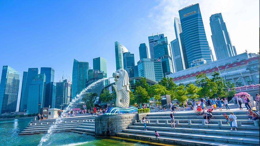 Merlion Park – Công viên sư tử biển nổi tiếng tại Singapore