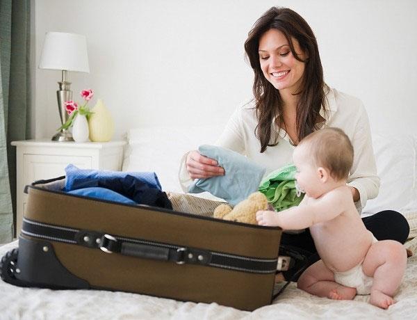 5 sai lầm người lớn cần tránh khi chuẩn bị đồ du lịch cùng bé