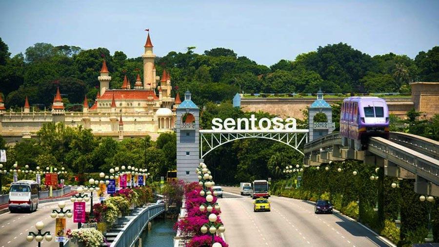 Đảo Sentosa – Hòn đảo lớn thứ tư của Singapore