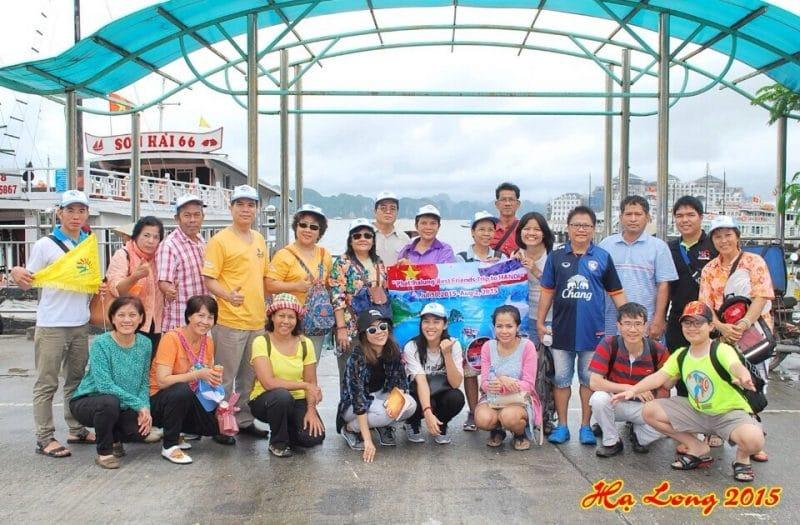 Đoàn Ms Thủy du lịch Hạ Long 1 ngày