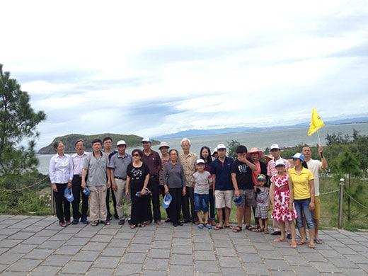 Công ty cổ phần tư vấn đầu tư và xây dựng Hưng Phú đi tour Thiên Cầm 3 ngày 4 đêm