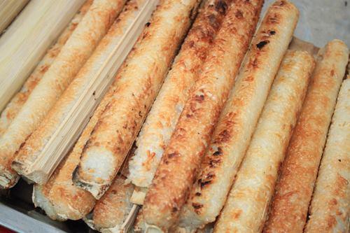Cơm lam- đặc sản thơm ngon của Mai Châu