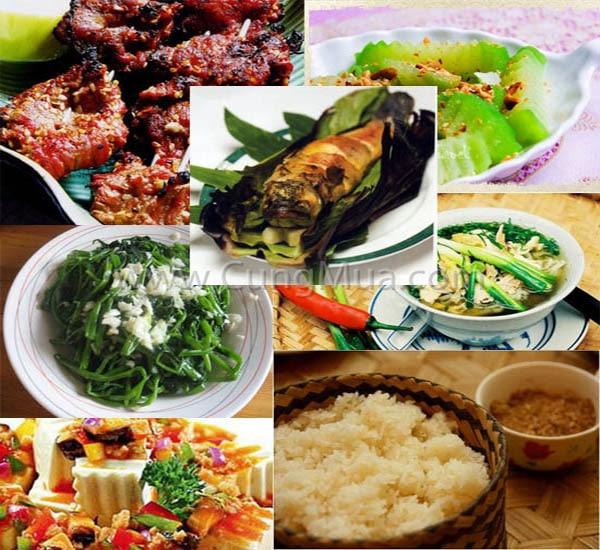 Đặc sản nổi tiếng ở Mai Châu