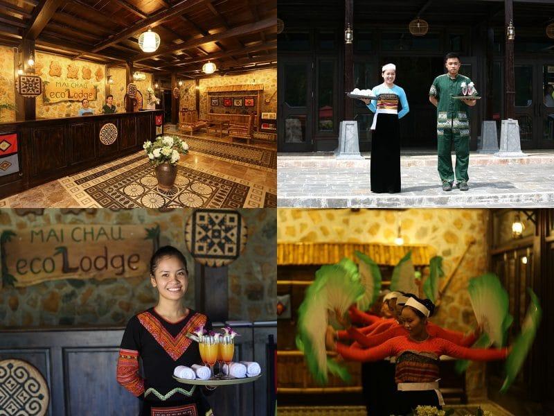 Mai Châu Ecolodge mang đến cho du khách những dịch vụ hoàn hảo và tiện nghi