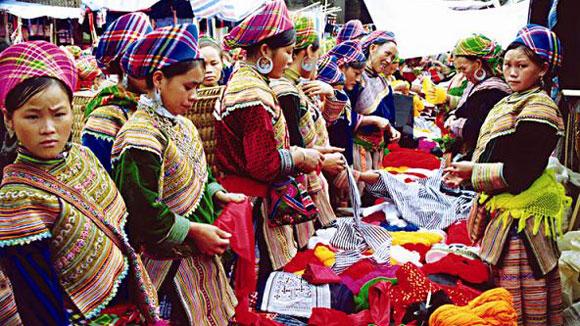 Nét đẹp thổ cẩm của văn hóa dân tộc ở Hà Giang