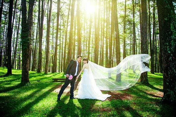 Bức ảnh đầy lãng mạn được chụp tại Đà Lạt