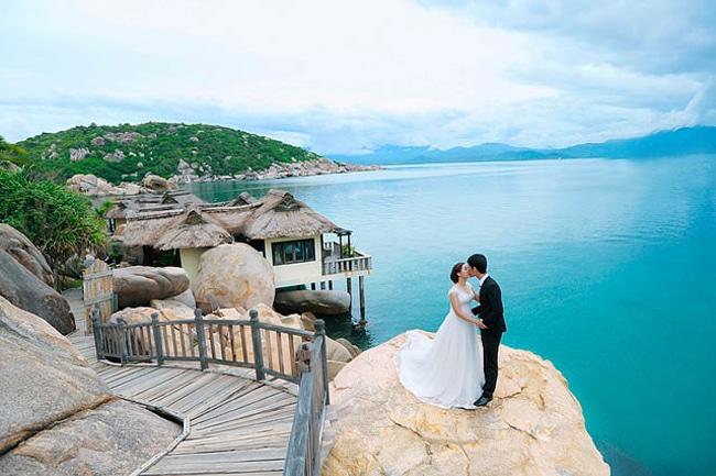 Resort Ngọc Sương được rất nhiều người lựa chọn để thực hiện bộ ảnh cưới lung linh