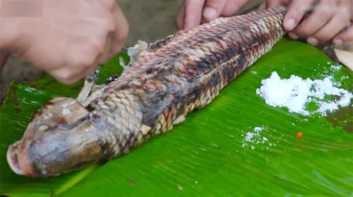 Cá trầm hương Thác Bản Giốc thơm ngon, hấp dẫn