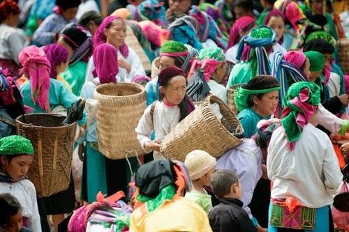 Chợ vùng cao Hà Giang