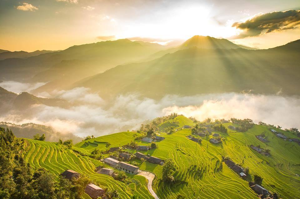 Đừng bỏ lỡ vẻ đẹp đến ngẩn ngơ của Hoàng Su Phì mỗi mùa lúa chín