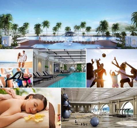Vinpearl Ha Long Bay Resort có rất nhiều loại hình dịch vụ phục vụ du khách