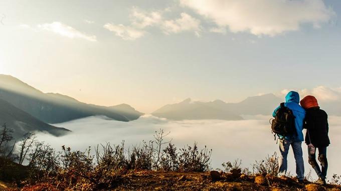 Khung cảnh nên thơ của Y Tý mùa săn mây