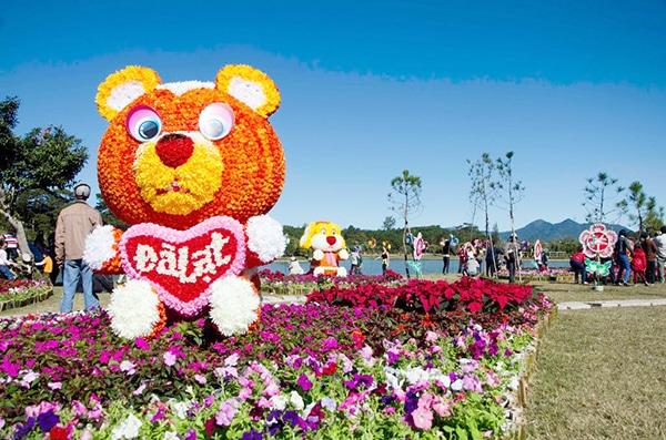 Festival hoa Đà Lạt lần thứ VI dự kiến diễn ra vào 30/12/2015 – 03/01/2016