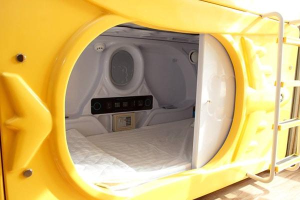 Phòng ngủ kiểu con nhộng lần đầu tiên xuất hiện tại Nha Trang