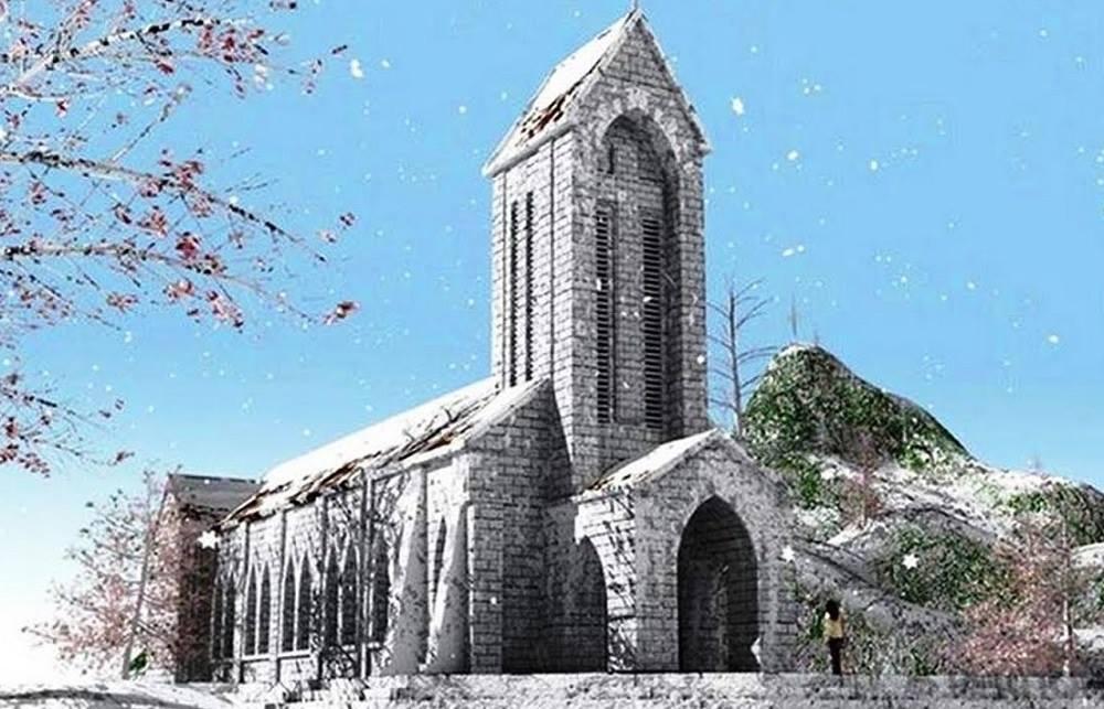 Tuyết trắng bao phủ Sapa