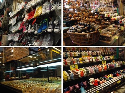 Mỏi chân mua sắm tại chợ cuối tuần Chatuchak Thái Lan